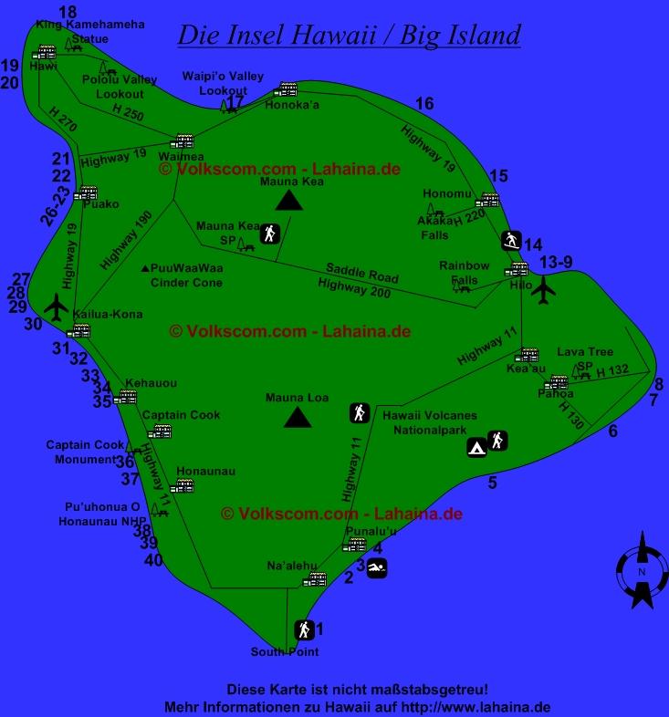 Big Island Sehenswertes